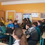 Sveikatingumo renginys aštuntokams Medelyno progimnazijoje.