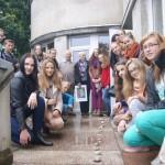 Mokiniai lankėsi Šiaulių apskrities žydų bendruomenės centre