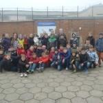 5a ir 5b klasių mokiniams, spalio 16 d., Kaune vyko netradicinė pamokos.