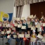 """3 c klasės  mokinės dalyvavo popietėje ,,Kalba gimtoji lūposna įdėta"""""""