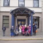 Vasario 28 d. 2b klasė lankėsi DNB banke.