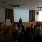 """Susitikimas su asociacijos ,,Lietuvos tėvų forumas""""  tarybos pirmininku Audriumi Murausku."""