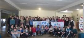 Susitikimą su Šiaulių universitete pagal SocialErasmus programą studijuojančiais užsienio šalių studentais