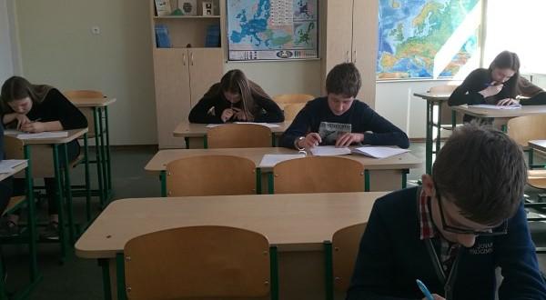 6-ų klasių mokinių anglų kalbos olimpiada Medelyno progimnazijoje