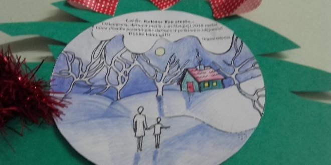 """Sveikinimas – paroda bendruomenei """"Lai Kalėdos tau atneša…"""""""