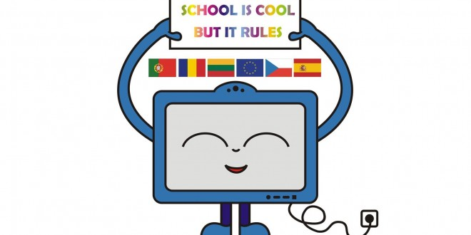 "Tarptautinis Erasmus+ KA2 projektas ""School is Cool but IT Rules"""