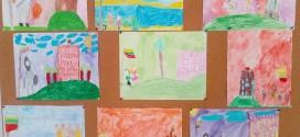 """Respublikinėje ikimokyklinio ir priešmokyklinio ugdymo įstaigų vaikų kūrybinių darbų parodoje – konkurse """"Atvirukas Lietuvai"""""""