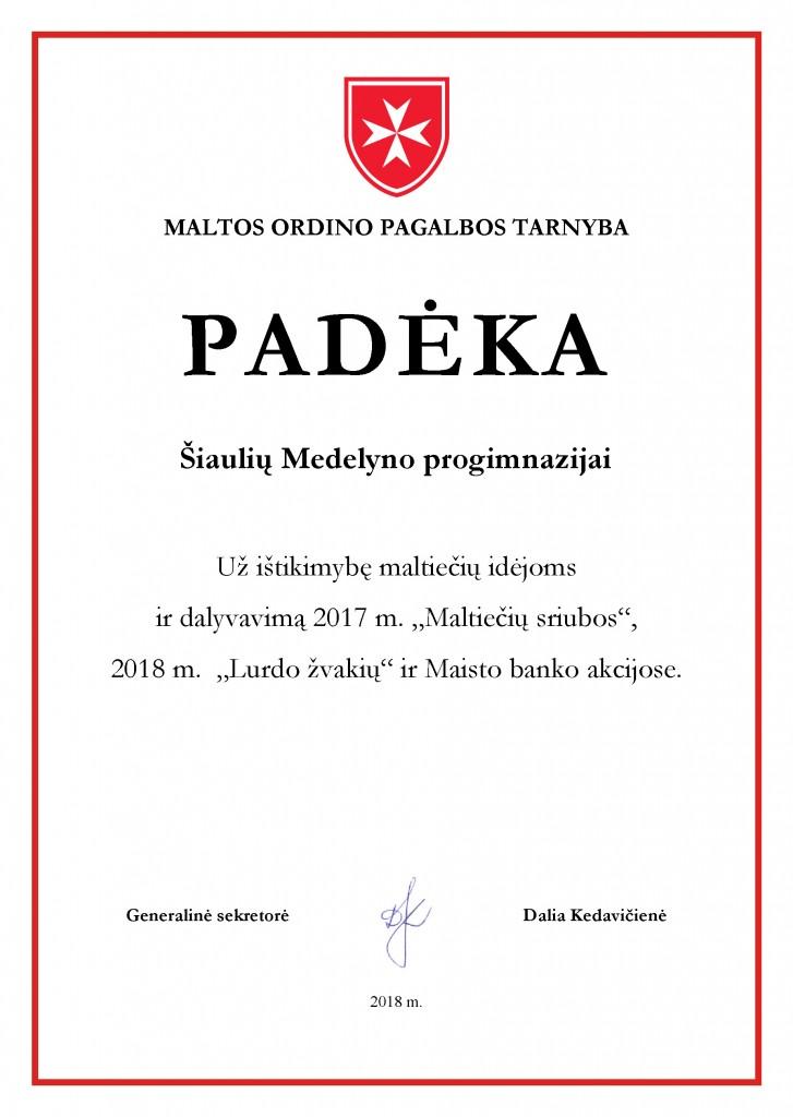 Medelyno pr. pasirasyta
