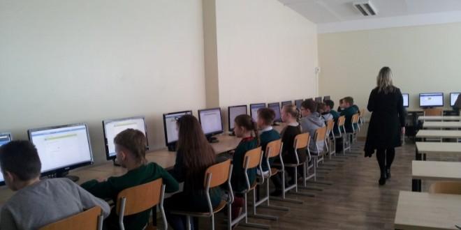 Progimnazijoje vyko Šiaulių miesto bendrojo ugdymo mokyklų 3 – 4 klasių mokinių mažoji lietuvių kalbos olimpiada