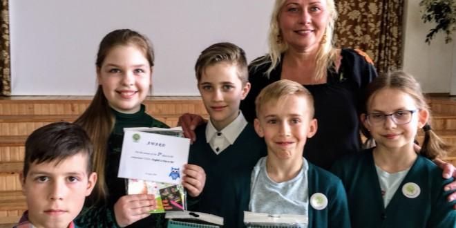 Sveikiname Medelyno progimnazijos 4-okų komandą laimėjus I vietą