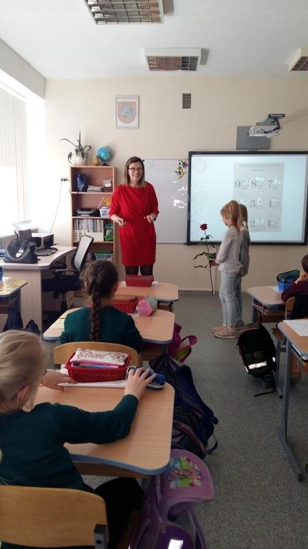 3a klasėje svečiavosi klasės mokinio Gabrieliaus Krivo mamytė Izolda