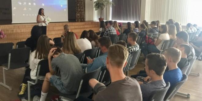 """UAB """"Toksika"""" edukacinė paskaita apie pavojingąsias atliekas"""