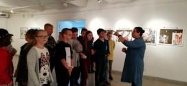 5a klasės mokiniai birželio 5 d. apsilankė Šiaulių Dailės galerijoje