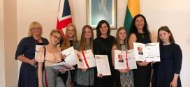 DofE apdovanojimų ceremonija 2018 m. birželis