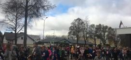 Mokykla prisijungė prie smagiausio rudens bėgimo!