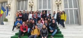 """Tarptautinio Erasmus+ KA2 projekto """"School is Cool but IT Rules"""" vizitas Rumunijoje"""