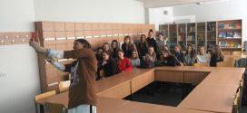 """7 kl. mergaitės dalyvavo Eglės Kislovski paskaitoje """"Grožis – kas tai? Kaip jį atrasti?"""""""